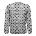 Ornamental Checkerboard Men s Long Sleeve Tee View2