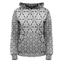 Ornamental Checkerboard Women s Pullover Hoodie View1