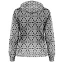 Ornamental Checkerboard Women s Pullover Hoodie View2