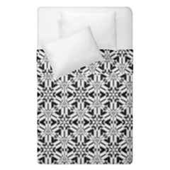 Ornamental Checkerboard Duvet Cover Double Side (single Size) by Mariart