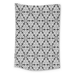 Ornamental Checkerboard Large Tapestry