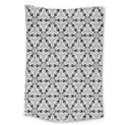 Ornamental Checkerboard Large Tapestry View1