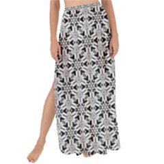 Ornamental Checkerboard Maxi Chiffon Tie Up Sarong