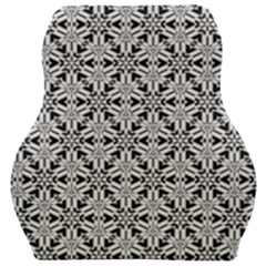 Ornamental Checkerboard Car Seat Velour Cushion