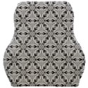 Ornamental Checkerboard Car Seat Velour Cushion  View1