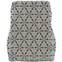 Ornamental Checkerboard Car Seat Velour Cushion  View2