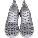 Ornamental Checkerboard Men s Lightweight Sports Shoes View1