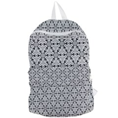 Ornamental Checkerboard Foldable Lightweight Backpack by Mariart