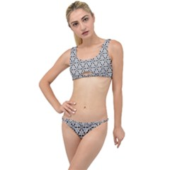 Ornamental Checkerboard The Little Details Bikini Set by Mariart