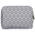 Ornamental Checkerboard Make Up Pouch (Medium) View2