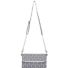Ornamental Checkerboard Mini Crossbody Handbag
