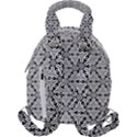 Ornamental Checkerboard Travel Backpacks View2
