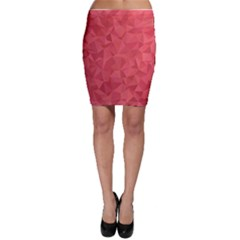 Triangle Background Abstract Bodycon Skirt
