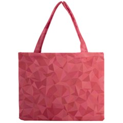 Triangle Background Abstract Mini Tote Bag
