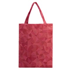 Triangle Background Abstract Classic Tote Bag