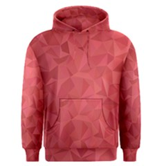 Triangle Background Abstract Men s Pullover Hoodie