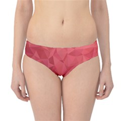 Triangle Background Abstract Hipster Bikini Bottoms