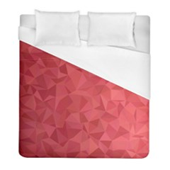 Triangle Background Abstract Duvet Cover (Full/ Double Size)