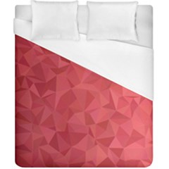 Triangle Background Abstract Duvet Cover (California King Size)