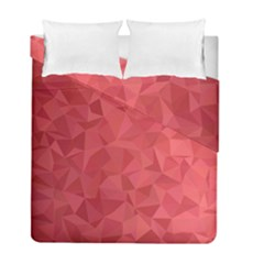 Triangle Background Abstract Duvet Cover Double Side (Full/ Double Size)