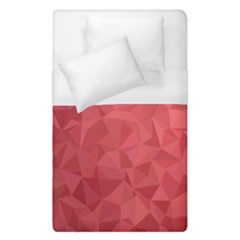 Triangle Background Abstract Duvet Cover (Single Size)