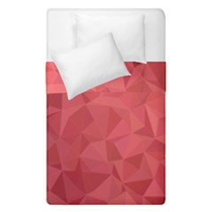 Triangle Background Abstract Duvet Cover Double Side (Single Size)