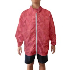Triangle Background Abstract Windbreaker (Kids)