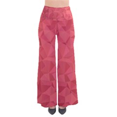 Triangle Background Abstract So Vintage Palazzo Pants