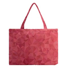 Triangle Background Abstract Medium Tote Bag