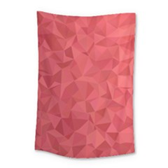 Triangle Background Abstract Small Tapestry