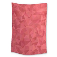 Triangle Background Abstract Large Tapestry