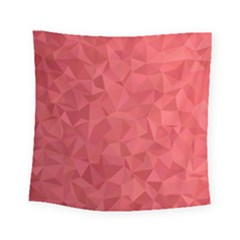 Triangle Background Abstract Square Tapestry (Small)