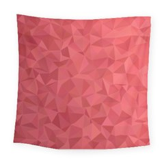 Triangle Background Abstract Square Tapestry (Large)