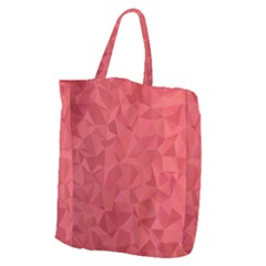 Triangle Background Abstract Giant Grocery Tote