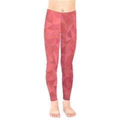 Triangle Background Abstract Kids  Legging