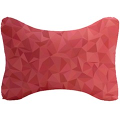 Triangle Background Abstract Seat Head Rest Cushion