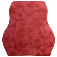 Triangle Background Abstract Car Seat Velour Cushion