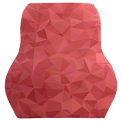 Triangle Background Abstract Car Seat Back Cushion