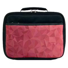 Triangle Background Abstract Lunch Bag by Mariart