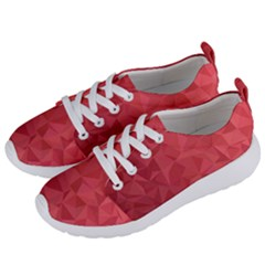 Triangle Background Abstract Women s Lightweight Sports Shoes