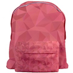 Triangle Background Abstract Giant Full Print Backpack