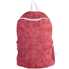 Triangle Background Abstract Foldable Lightweight Backpack