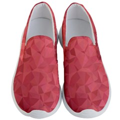 Triangle Background Abstract Men s Lightweight Slip Ons