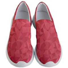 Triangle Background Abstract Women s Lightweight Slip Ons
