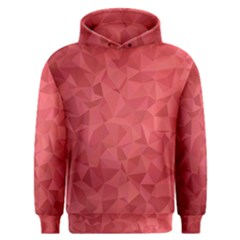 Triangle Background Abstract Men s Overhead Hoodie