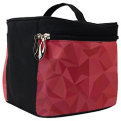 Triangle Background Abstract Make Up Travel Bag (Big)