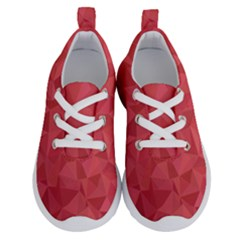 Triangle Background Abstract Running Shoes