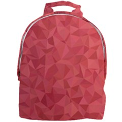 Triangle Background Abstract Mini Full Print Backpack