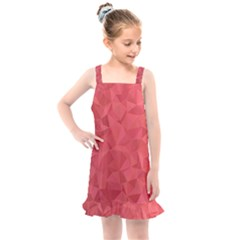 Triangle Background Abstract Kids  Overall Dress by Mariart
