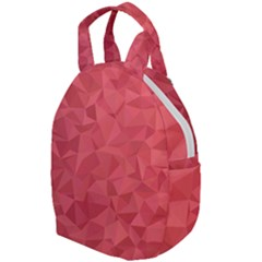 Triangle Background Abstract Travel Backpacks